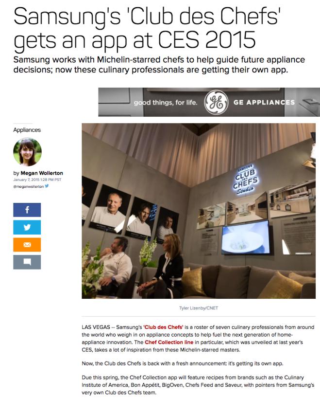 CES 2015 via CNET